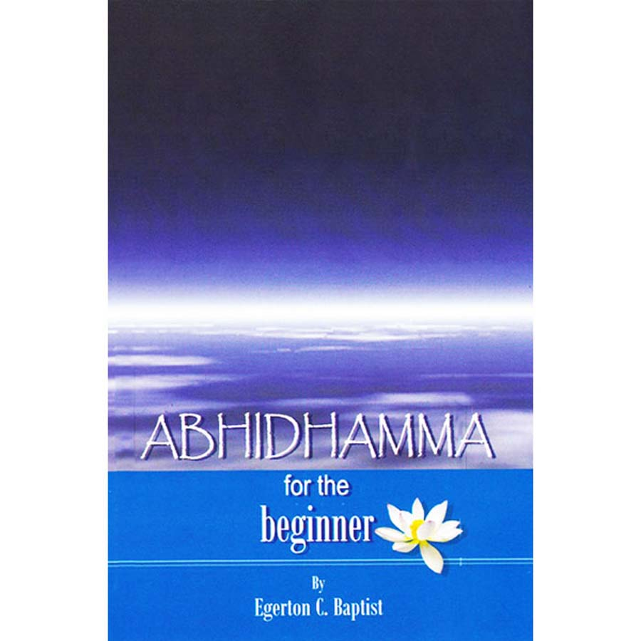 Abhidhamma for the beginner